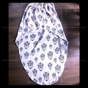 H&M Skull Skirt
